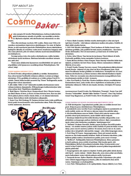 Cosmo Hangup Skateboarding Magazine