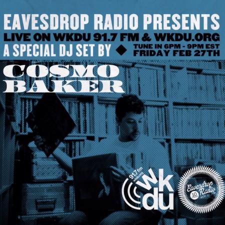 WKDU Eavesdrop Radio Guest Set