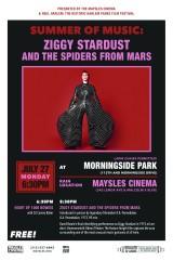 Ziggy Stardust Maysles Event Harlem July 2015