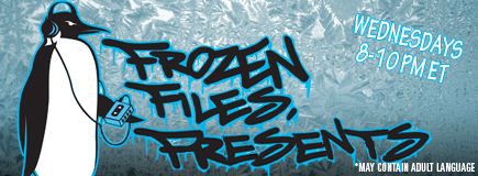 Frozen Files Presents Banner