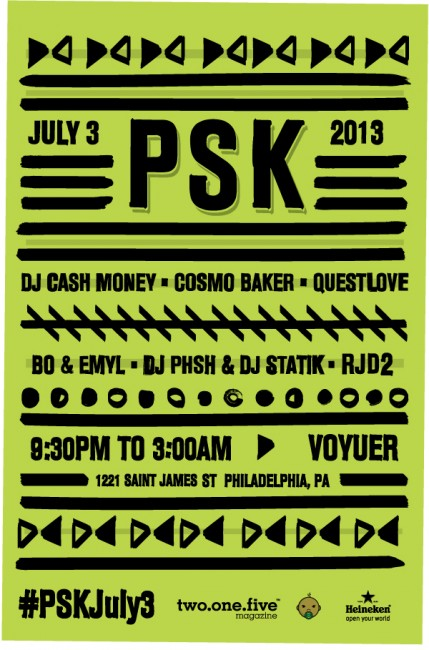 PSK Philly July 2013