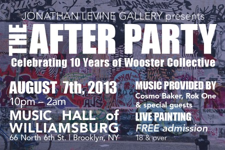 Wooster Collective Afterparty