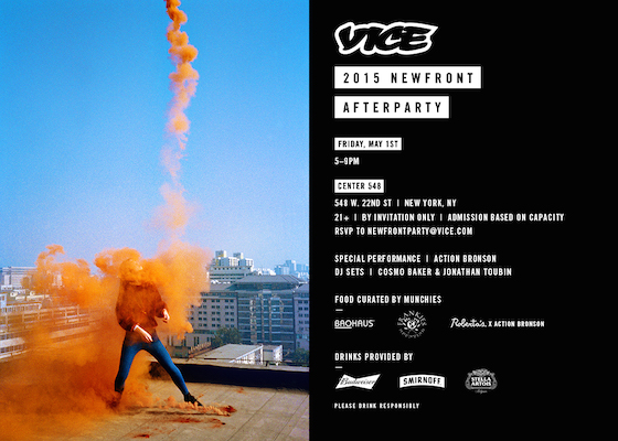 Vice Newfront Afterparty NYC May 2015 copy