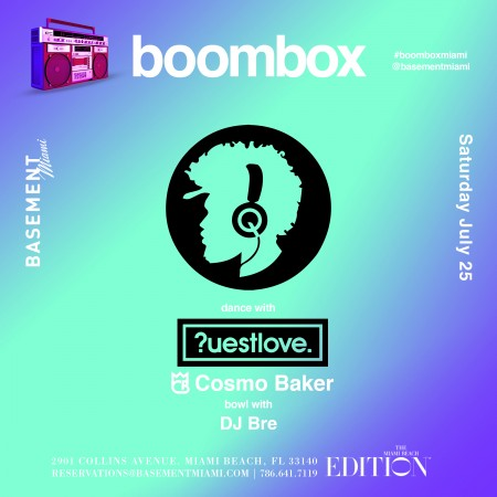 Boombox Miami Edition July 2015