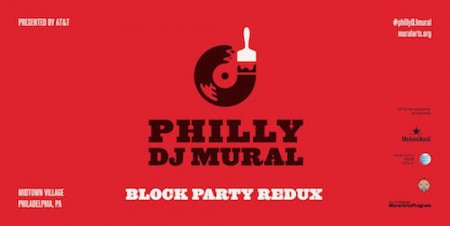 Philly DJ Mural Redux October 2015