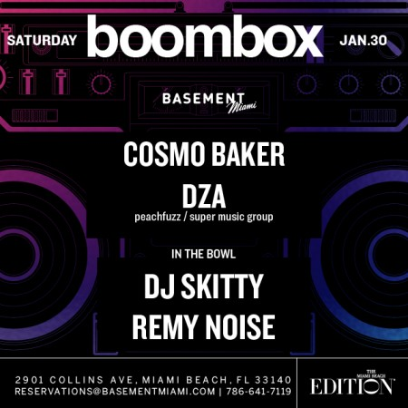 Edition Boombox Miami January 2016