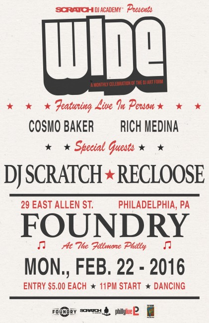 Wide Philly Foundry Philly February 2016